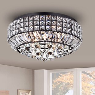 Rosdorf Park Minta 4-Light Flush Mount