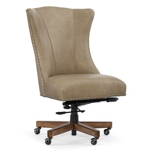 Big Save Lynn Genuine Leather Task Chair by Hooker Furniture Reviews (2019) & Buyer's Guide