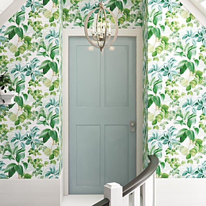 Danna Rainforest Leaves Peel And Stick Wallpaper Roll