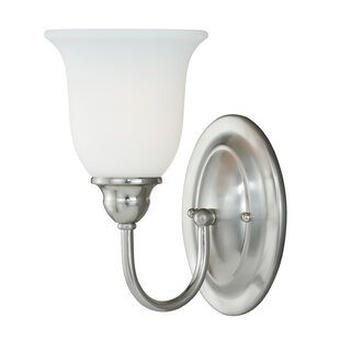 Feder 1-Light Bath Sconce By Charlton Home Wall Lights