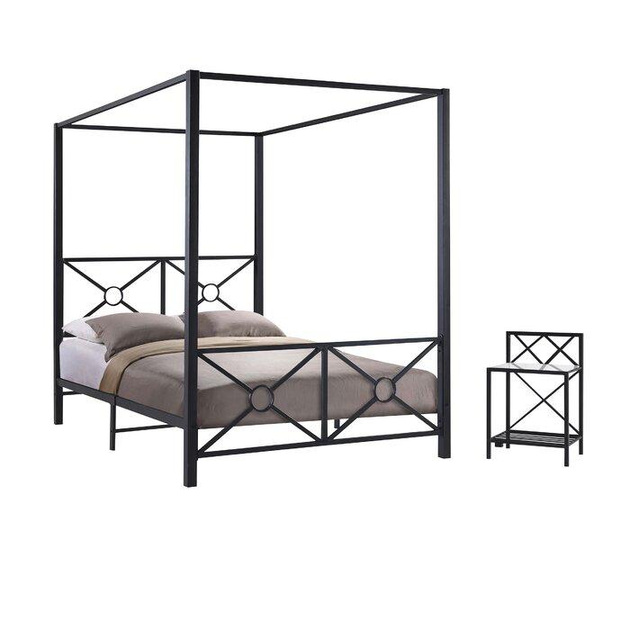 Symeon Canopy Configurable Bedroom Set