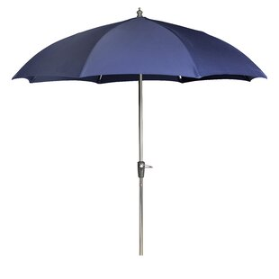 Rib Dome 7.5' Beach Umbrella by Woodard