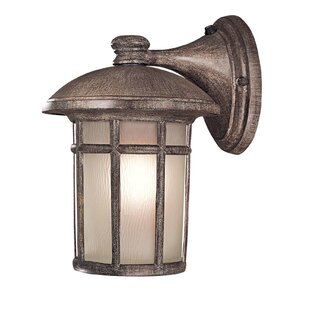 Affordable Cranston 1-Light Outdoor Wall Lantern By Great Outdoors by Minka