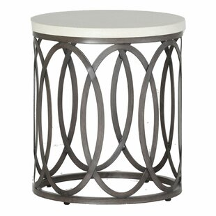 Ella Wrought Aluminum Side Table
