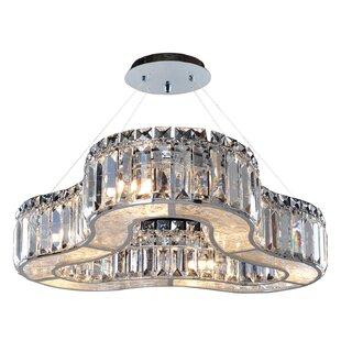 Allegri by Kalco Lighting Inegal 6-Light Crystal Chandelier
