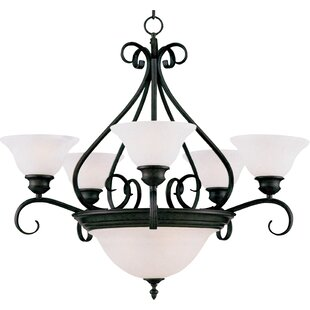 Ambrose 7-Light Shaded Chandelier by Darby Home Co