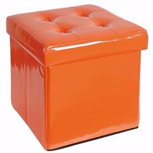 Ebern Designs Woody Folding Storage Ottoman