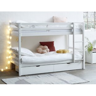 Review Brannan European Single (90 X 200cm) High Sleeper Bed With Drawers