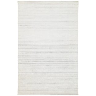 Price comparison Fleet Hand Loomed White Area Rug By Williston Forge