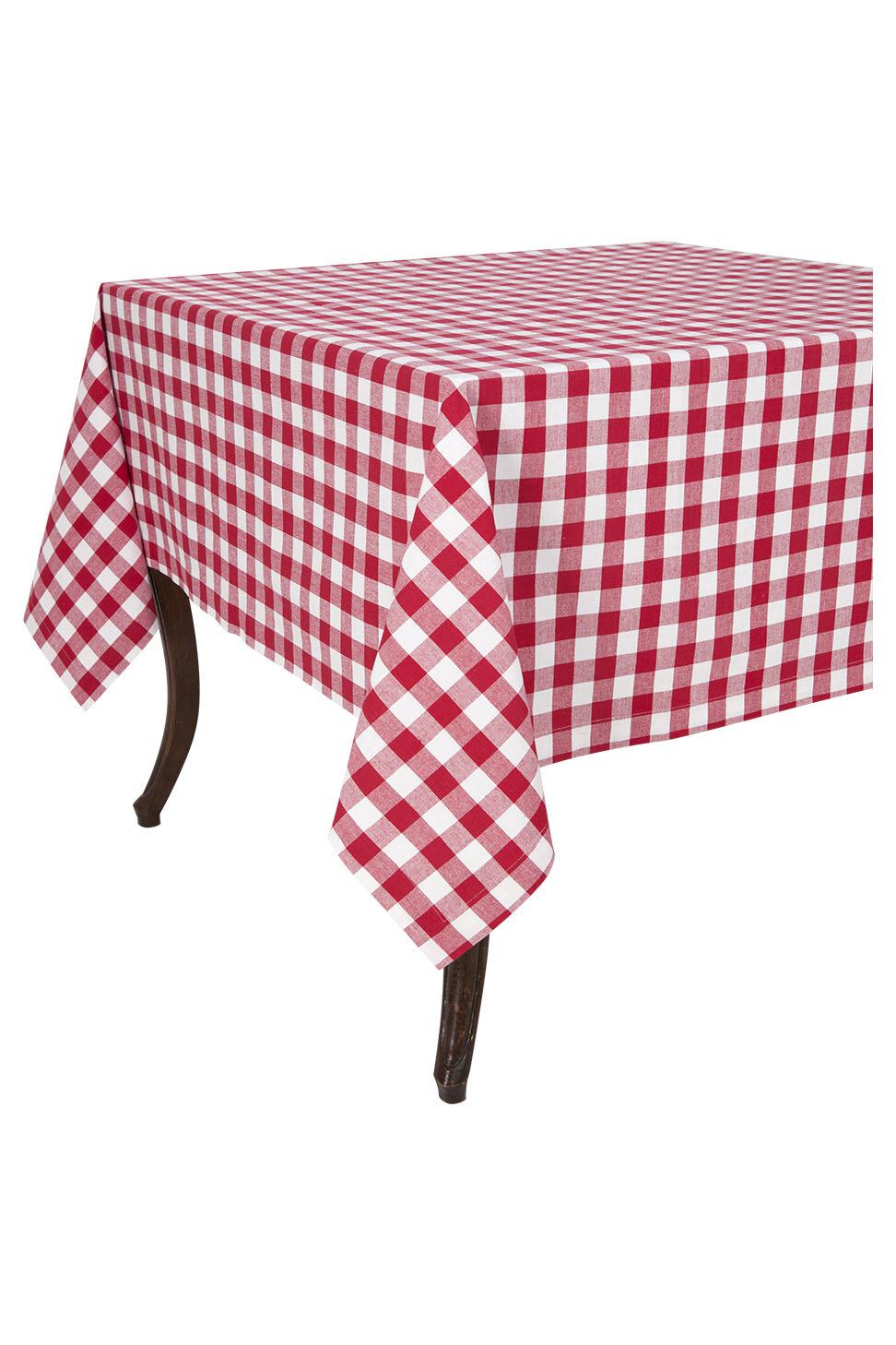 August Grove Obanion Check Tablecloth Reviews Wayfair