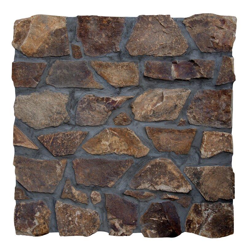 Castle Earth Loose Veneer Natural Stone Tile In Brown