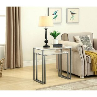 Crum 2 Piece Nesting Tables