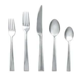 Continental Dining 5 Piece Flatware Set, Service for 1