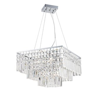 Hecht 5-Light Crystal Chandelier by House..