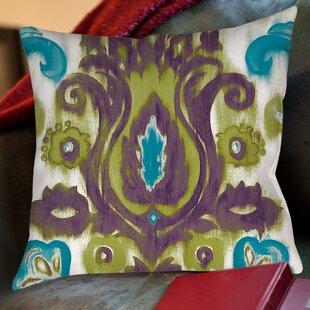 Radiant Transitions Printed Throw Pillow