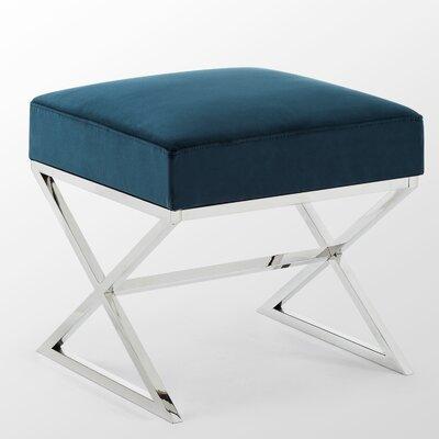 Phenomenal Mercer41 Evonne Ottoman Upholstery Color Navy Ncnpc Chair Design For Home Ncnpcorg