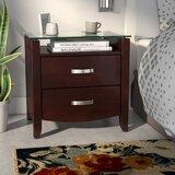 Rushmere 2 - Drawer Nightstand in Cherry by Latitude Run®
