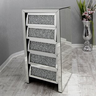 Crushed Glass Chest Of Drawers By Willa Arlo Interiors