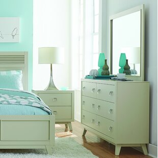 Brayden Studio Hagerty 6 Drawer Dresser with..