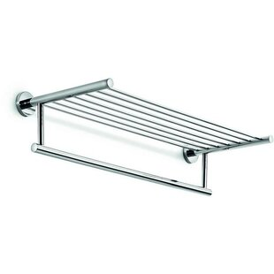 AGM Home Store Spriz Brass Wall Mounted Towel Rack