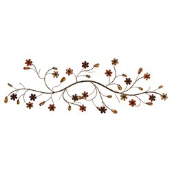 Twig Wall Decor andover mills flower loaded twig wall décor & reviews | wayfair