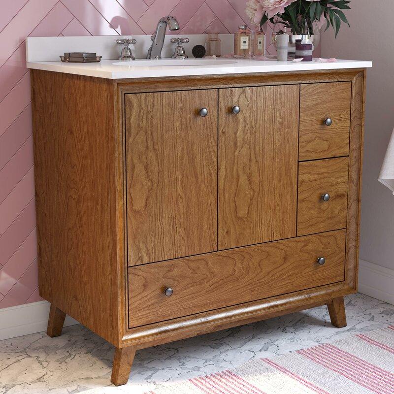 """Bleeker 36"""" Single Bathroom Vanity Set"""