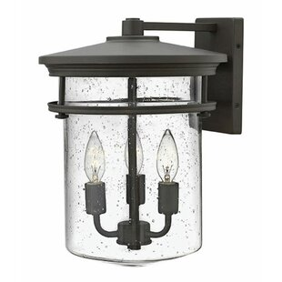Best Reviews By ford 3-Light Outdoor Sconce By Latitude Run