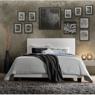 Vesper PU Upholstered Panel Bed