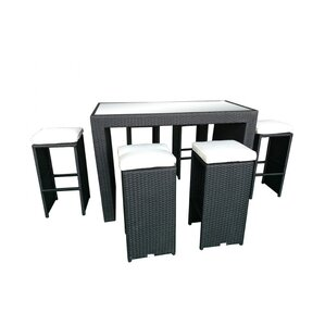 Presley 7 Piece Bar Height Dining Set With Cushions