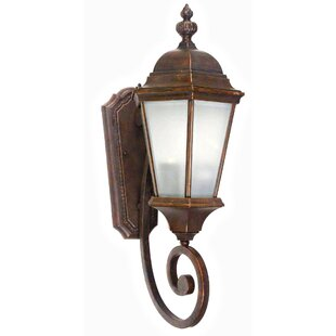 Top Brielle 2-Light Outdoor Sconce By Yosemite Home Decor