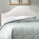 Katzer Curved Upholstered Panel Headboard by Alcott Hill®