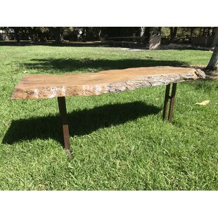 Brookhurst Oak Stone/Concrete Garden Bench