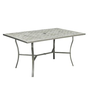Coupland Concrete Tile Dining Table Fleur De Lis Living