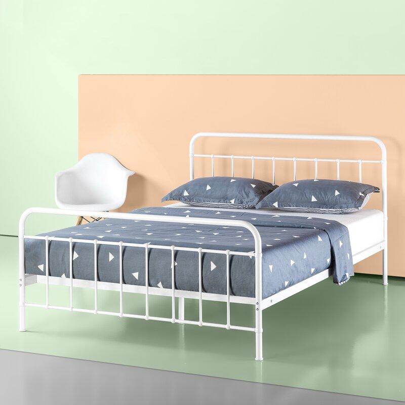 Aly Metal Platform Bed Frame