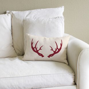 Deer Antler Pillow Cover Wayfair