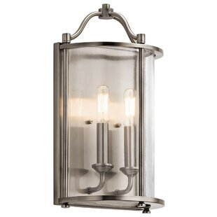 Boulder Creek 2-Light Wall Sconce by Red Barrel Studio