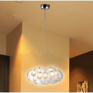 Shaylee 7-Light Cluster Pendant by Orren Ellis