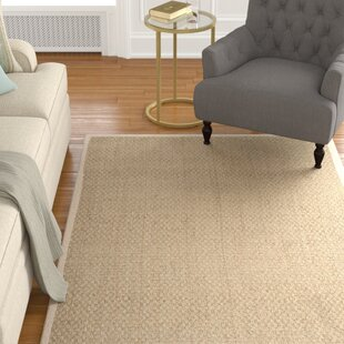 Best Price Catherine Power Loom Natural/Ivory Area Rug By Alcott Hill