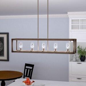 Coxsackie Modern 5-Light Kitchen Island Pendant & Pendant Lighting Youu0027ll Love | Wayfair azcodes.com