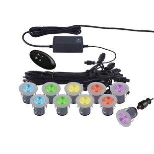 Wave-LED 1 Light LED Deck Light (Set of 10) (Set of 10)