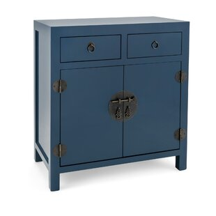 Claus Wooden 2 Door Accent Cabinet by World Menagerie