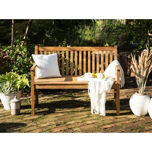 Eneida Wooden Traditional Bench By Sol 72 Outdoor