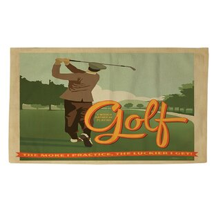 Golf Bad Day Area Rug