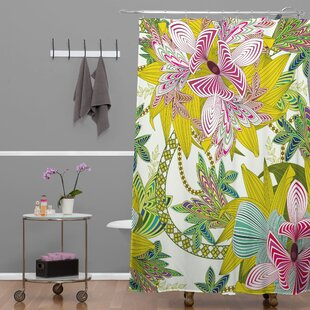 Sabine Reinhart Life Is Music Single Shower Curtain