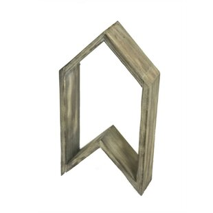 Bushnell Stylish Arrow Shape Wooden Wall Shelf by Union Rustic