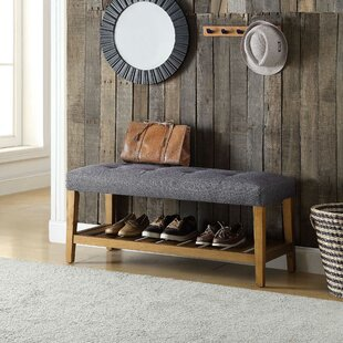 Arlesey Simple Upholstered Bench by Winston Porter