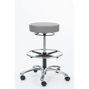 Height Adjustable Pneumatic Stool with Ring Release