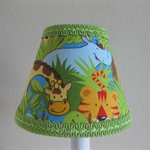 Wild Safari 11 Fabric Empire Lamp Shade