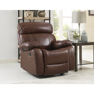 Bargain Lahti Leather Manual Recliner by Red Barrel Studio Reviews (2019) & Buyer's Guide
