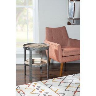Marino End Table With Storage By Longshore Tides